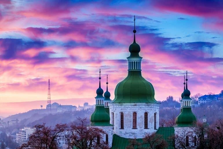 Płatności kartą na Ukrainie